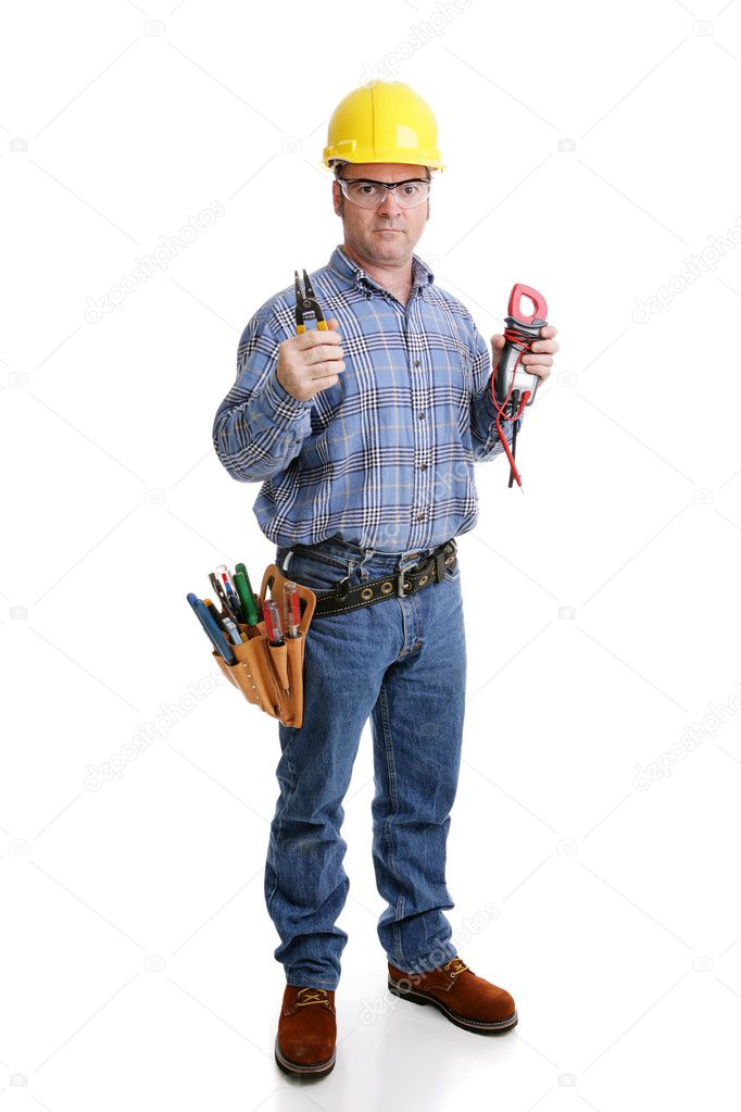 Electrician Ready for Work