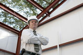 stavební inspektor - v práci