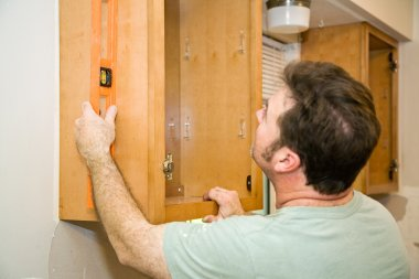 Installing Cabinets - Leveling