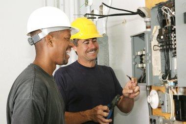 Electricians Enjoy Their Job