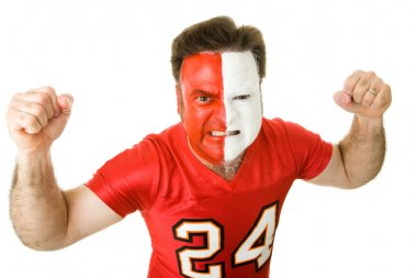 Angry Sports Fanatic
