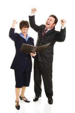 Business Rejoicing