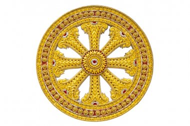 Wheel of dhamma of buddhism