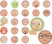 Emoticons icon set
