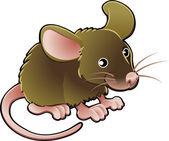 roztomilé myši vektorové ilustrace