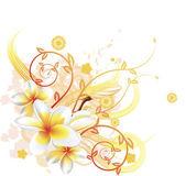 Fotografie Cool floral background
