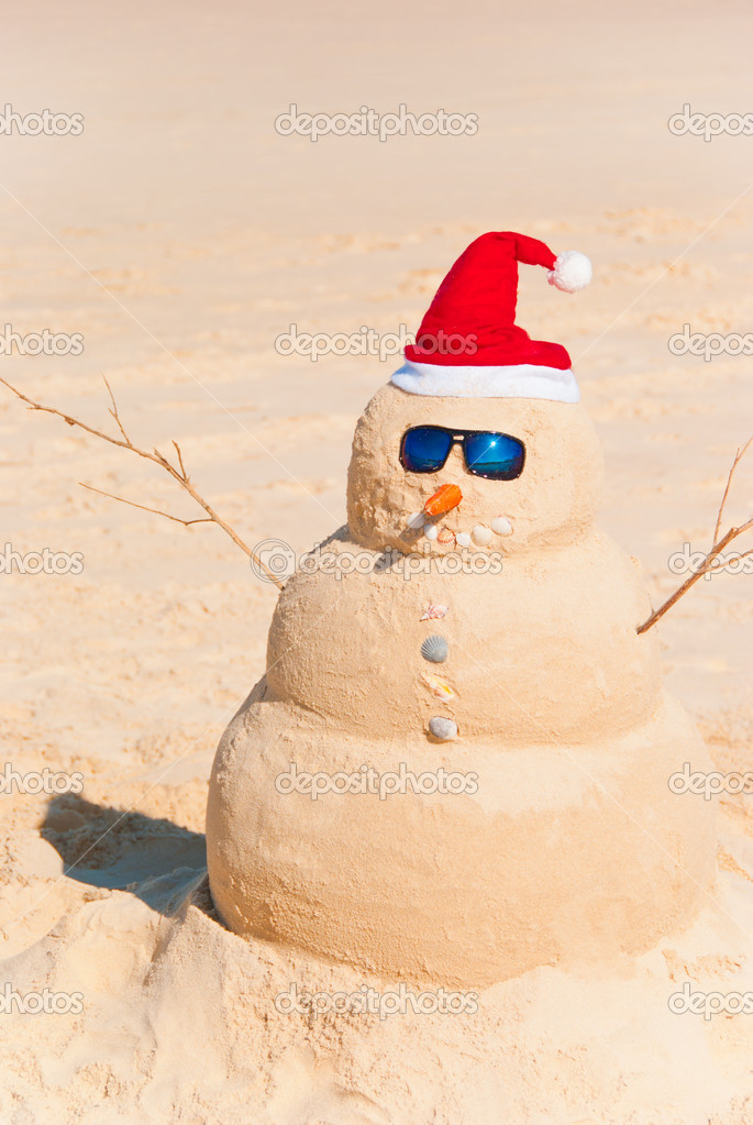 how to build sand snowman