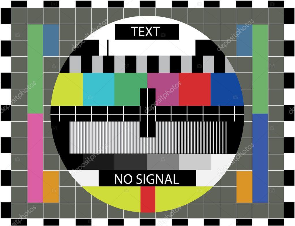 test des couleurs TV — Image vectorielle i3alda © #6453592
