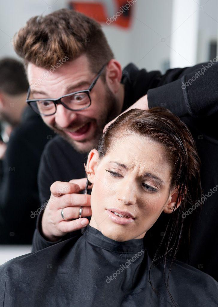 Секс с клиентом в парикмахерской фото 791-391