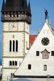 Fotografie Bardejov kostelní věž, Slovensko
