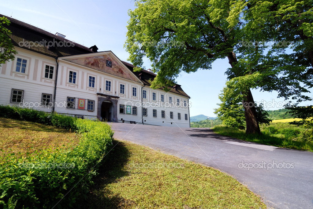 Castel in Svaty Anton, Slovakia