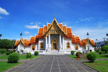 The Marble Temple in Thailand name watbencha