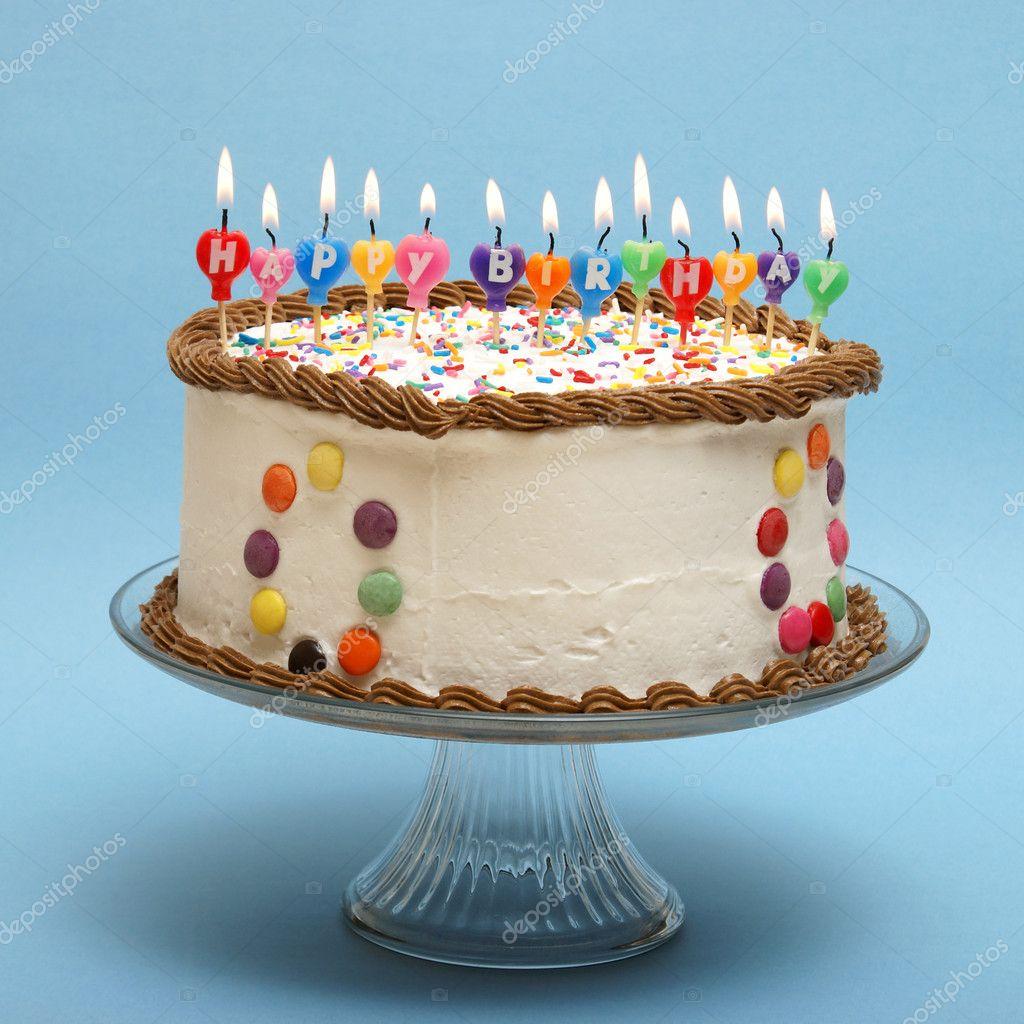 Happy birthday cake stock photo alphababy 6486686 - Happy birthday cake picture ...