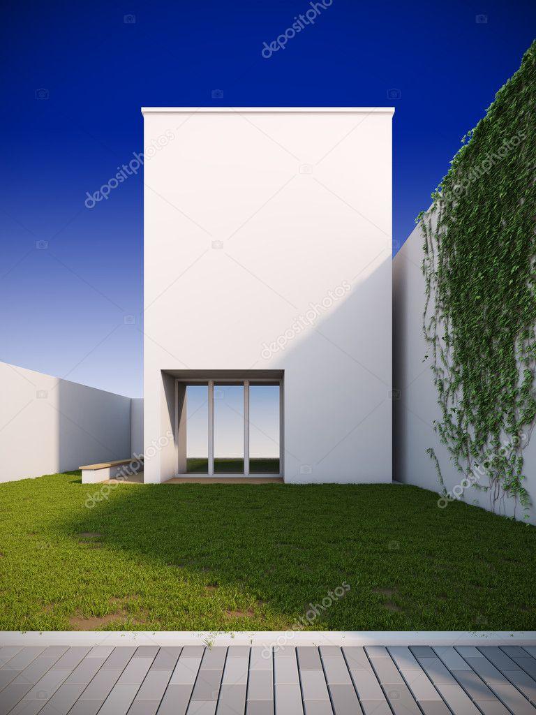 modernes Haus in minimalistischen Stil — Stockfoto © _nav_ #6594788