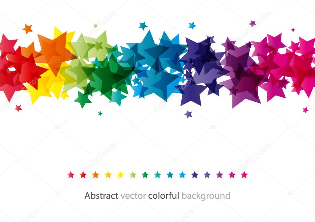 Abstract star shiny background