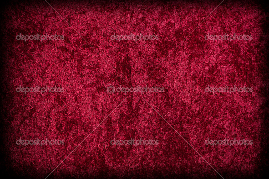 red velvet like fabric for background or texture stock photo 6529186