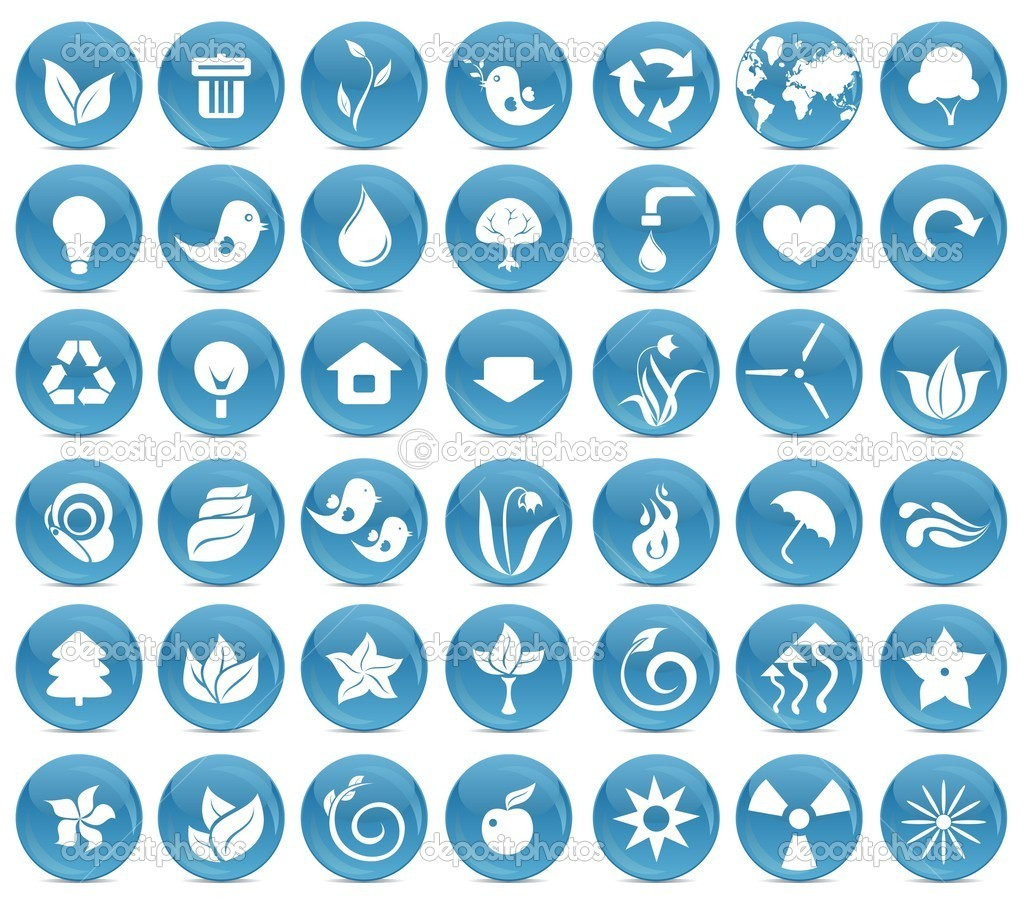42 ecological icons