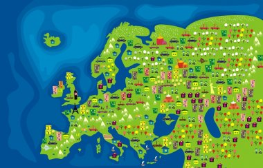 Flora and fauna of europe