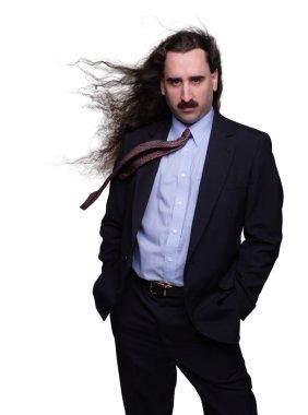 Wind Swept Businessman 1
