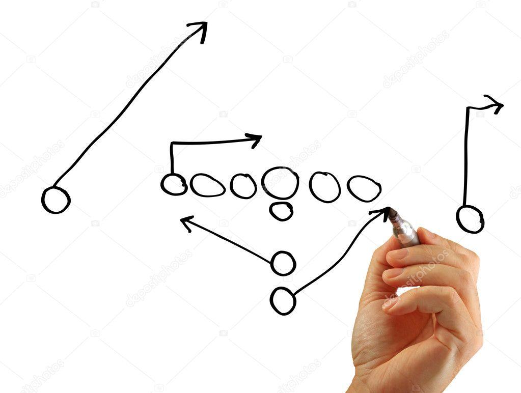 Football play hand stock photo jamieroach 6603523 football play hand stock photo pooptronica Images