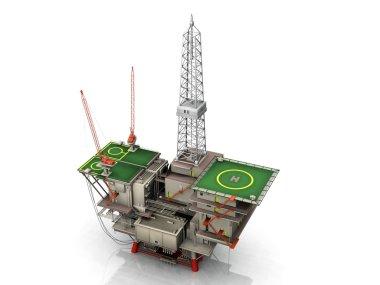 The oil platform