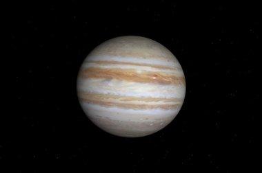 Jupiter in space