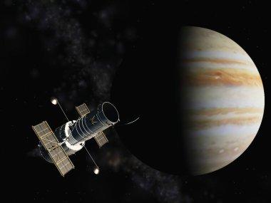 Jupiter and the satellite