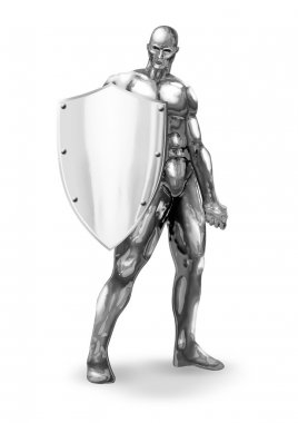 Chromeman Shield