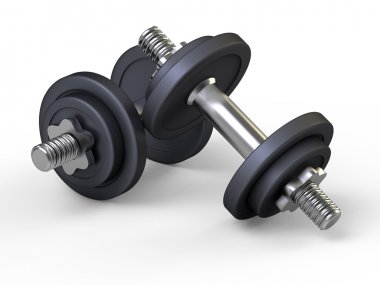 Weights, dumbbells, gym