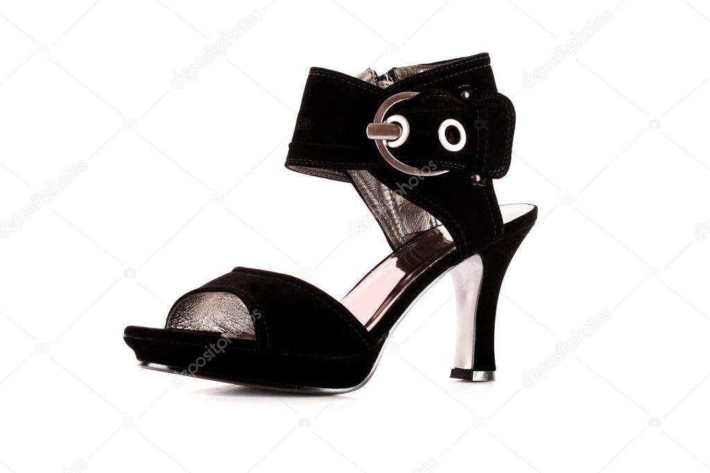 Sexy černé boty