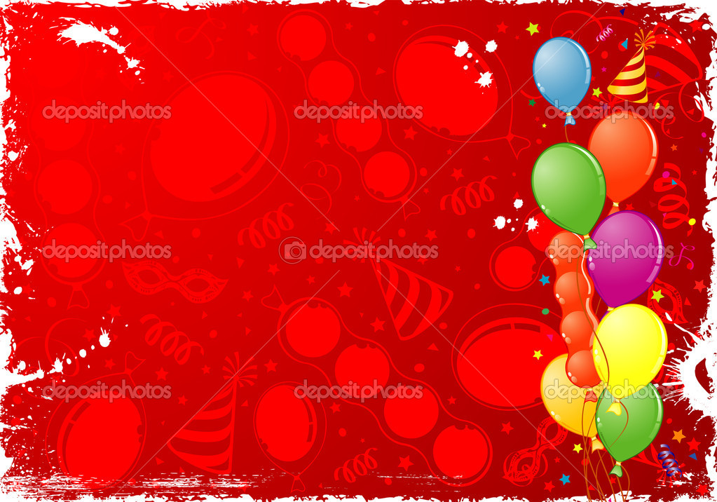 Birthday Frame — Stock Vector © TAlexey #6698746