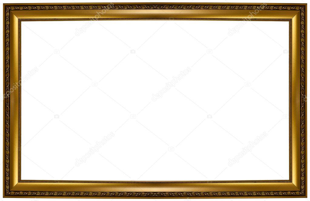 bilderrahmen gold — Stockfoto © ninell #6683183