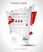 Origami web - elegantní design pro podnikání