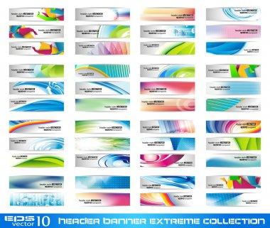 Header Banner extreme collection