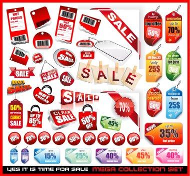 Sale Tags Mega Collection Set