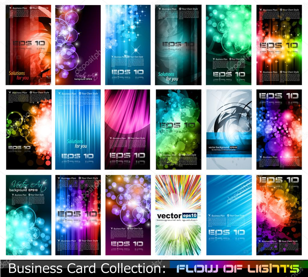 Business card collection stock vector c davidarts 6718263 for Business card collection