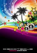 Fényképek Trópusi zenei esemény Disco szórólap