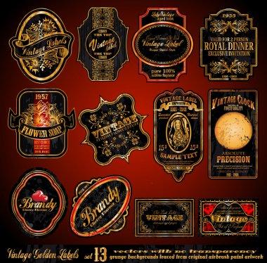 Vintage Labels -- Set 13