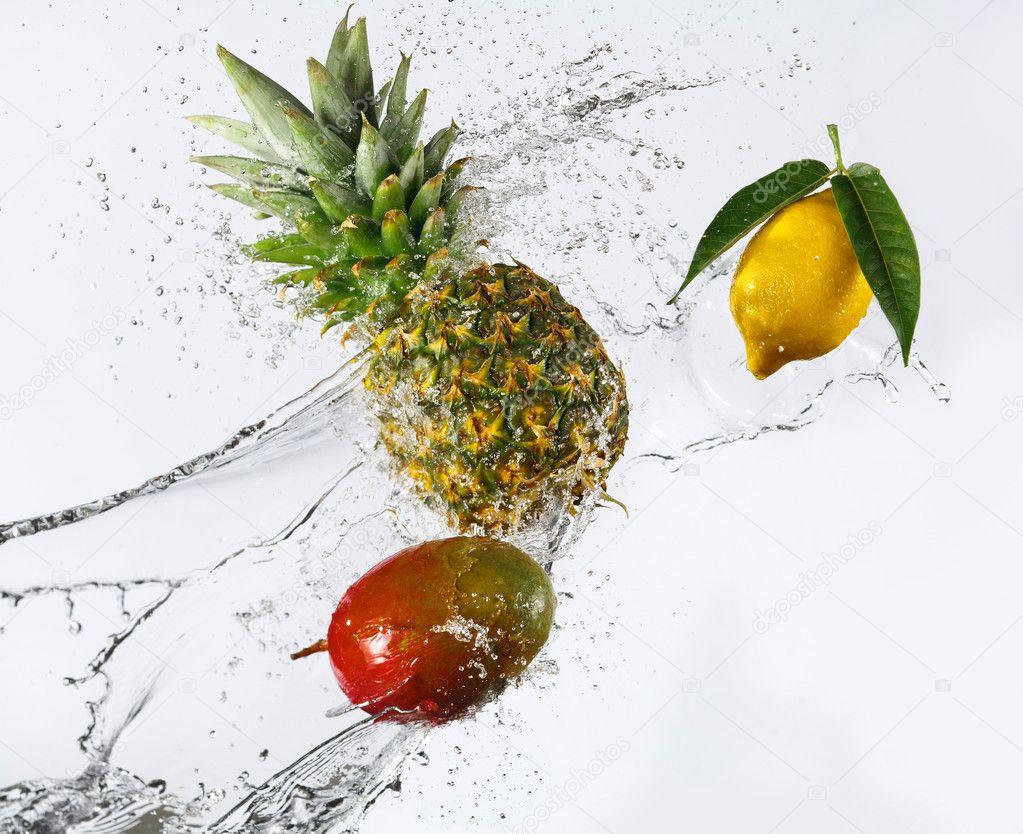 Картинки по запросу ананас манго лимон