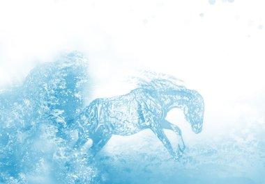 Liquid horse