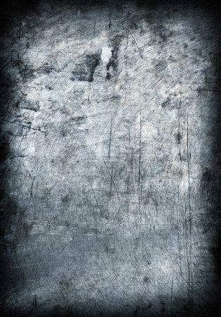 Photo pour Grunge plaque métallique fond en acier. Salut res - image libre de droit
