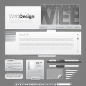 Vector web site design template To see more go to my portfolio