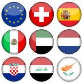 national flag icon set 5
