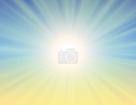 Sunburst abstract background