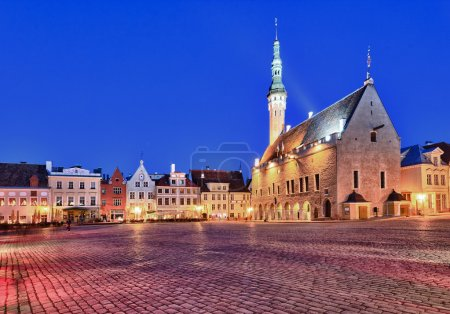 Old Town Hall in Tallinn