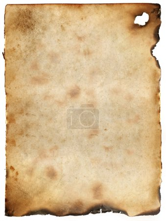 Vintage burnt paper background