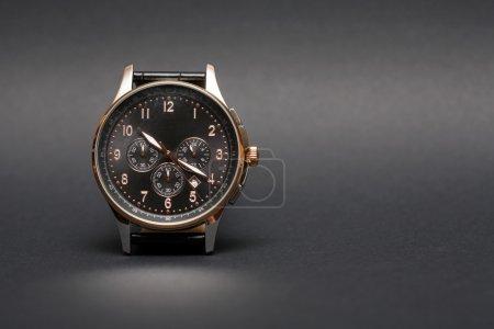 Wristwatch On Dark