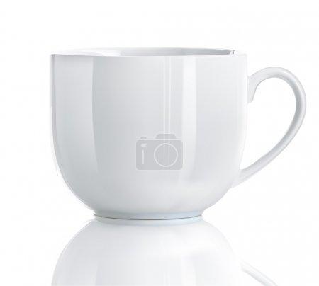Photo pour Illustration de tasse de thé réaliste Cool sur fond blanc - image libre de droit