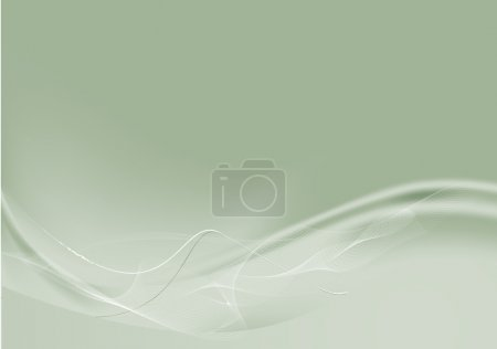 Illustration pour Composition de lignes courbes - idéal pour les arrière-plans, ou superposition sur d'autres images - image libre de droit