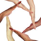 Obrázek lidských rukou